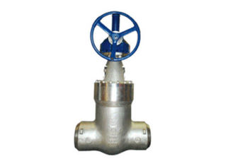 Pressure Seal Cast Gate Valve , Ductile Iron Gate Valve Flanged Ends