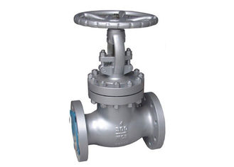 Electric Cast Globe Valve / Stainless Steel Globe Valve Customized Size